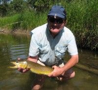 Throwing streamers on the madison river putah creek fly for Putah creek fly fishing